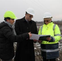 Az infrastruktúraépítés első ütemét két kivitelező céggel végezteti el a Miskolc Holding Zrt.