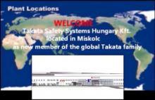 Biztonsági öveket gyárt majd Miskolcon a Takata